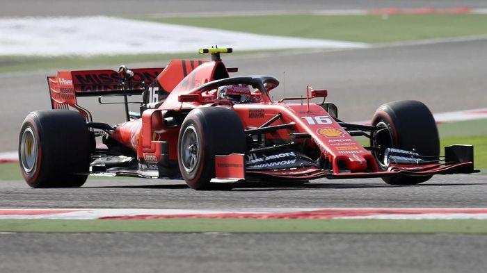 Driver Ferrari, Charles Leclerc. (Foto: Hamad I Mohammed/Reuters)