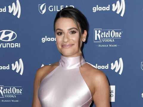 BEVERLY HILLS, CALIFORNIA - MARCH 28: Lea Michele attends the 30th Annual GLAAD Media Awards at The Beverly Hilton Hotel on March 28, 2019 in Beverly Hills, California. (Photo by Frazer Harrison/Getty Images)