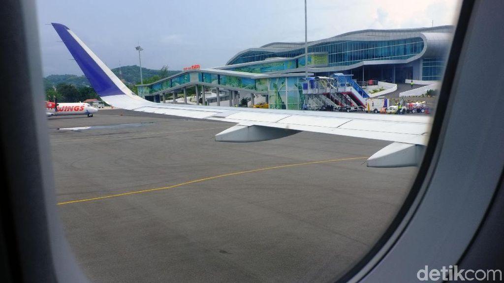 Begini Megahnya Bandara Komodo di Labuan Bajo