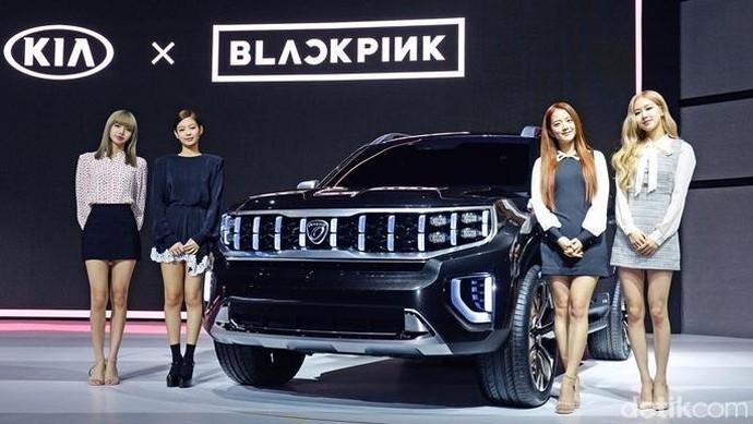 BLACKPINK Buka Selubung Mobil Anyar Kia