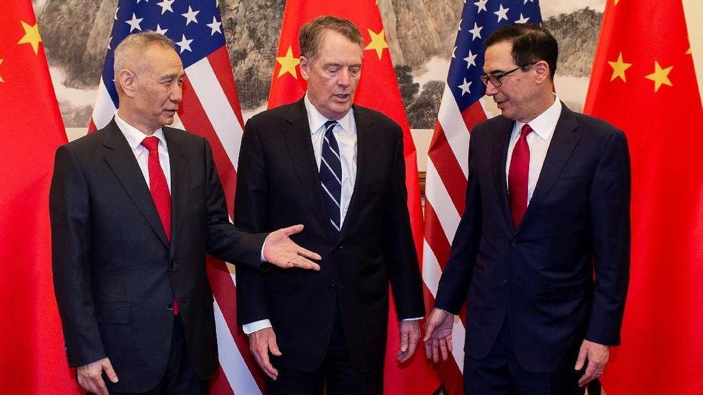 Mau Setop Perang Dagang, AS-China Berunding Lagi