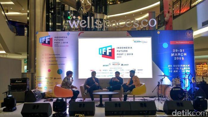 Foto: Indonesia Future Fest/Achmad Dwi Afriyadi-detikFiancne
