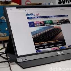Asus ZenScreen MB16AC, Monitor Portable yang Ringkas