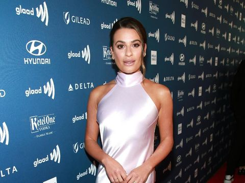 BEVERLY HILLS, CALIFORNIA - MARCH 28: Lea Michele attends the 30th Annual GLAAD Media Awards Los Angeles at The Beverly Hilton Hotel on March 28, 2019 in Beverly Hills, California. (Photo by Rich Fury/Getty Images for GLAAD)