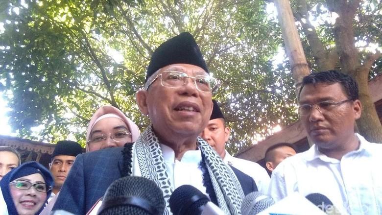 Maruf Amin Sindir Prabowo: Menang Aja Belum, Kok Nama Menteri Dikeluarin?
