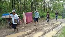 Di Pandeglang Lagi! Ibu Hamil Ditandu 6 Km karena Jalan Rusak