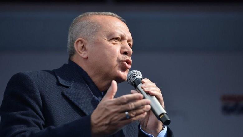 Erdogan Dukung Pemilihan Wali Kota Istanbul Diulang
