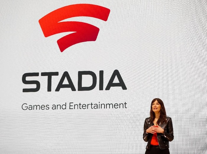 Google Stadia. Foto: Stephen Lam/Reuters