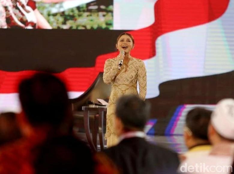 Rossa Bicara Lagi soal Salah Lirik Lagu Indonesia Raya di Debat Capres