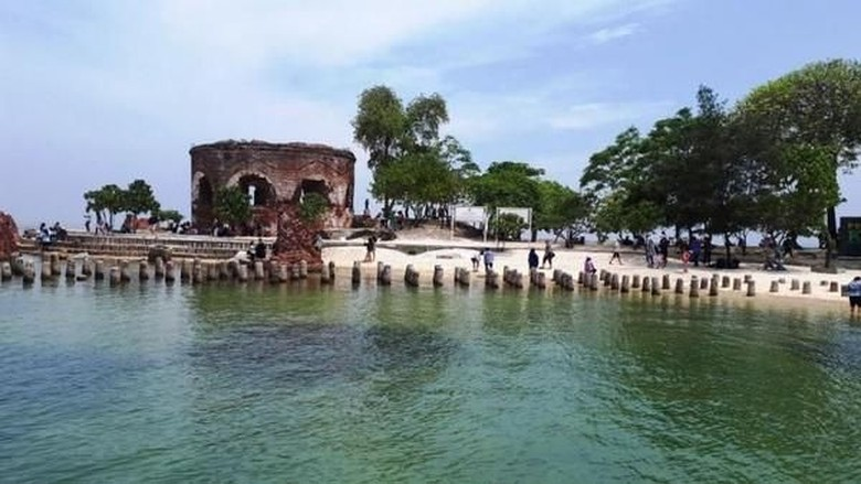 Benteng Martello di Pulau Kelor (Agoeng Widodo/dTraveler)