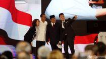 Pesan Persahabatan Jokowi dan Prabowo di Panggung Debat