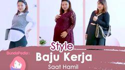 3 Inspirasi Style Baju Kerja Saat Hamil yang Patut Bunda Coba