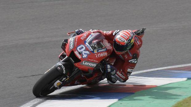 Andrea Dovizioso berada di posisi kedua FP2 MotoGP Spanyol 2019. (