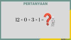 Beberapa soal matematika ini biasa diberikan ke anak-anak tingkat sekolah dasar. Kalau bisa benar semua berarti kemampuan otak kamu masih tajam.