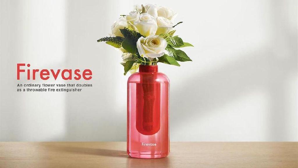 Samsung Punya Vas Bunga yang Juga Bisa Jadi Alat Pemadam Api