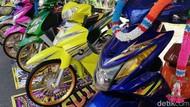 Modif Motor Ban Cacing ala Thailook Cuma buat Pajangan