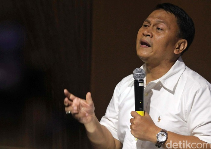 Politikus PKS (Agung Pambudhy/detikcom)