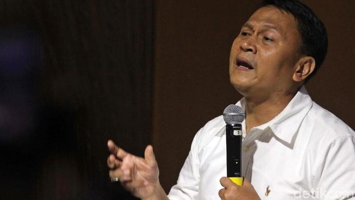 Wakil BPN Prabowo-Sandiaga dan TKN Jokowi-Maruf Amin hadiri diskusi bertema Debat IV: Isu Khilafah, Pancasila hingga Proxy War. Seperti apa keseruannya?