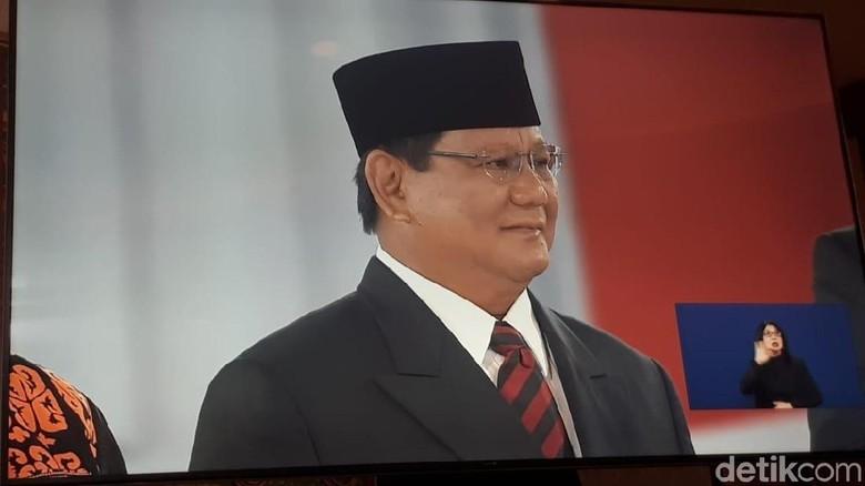 Buka Debat, Prabowo: Pancasila Ideologi Final!
