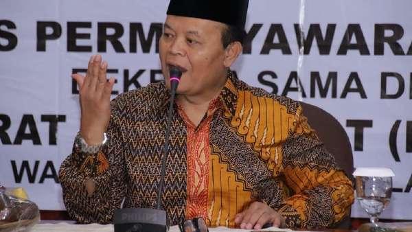 Andi Arief Cuit soal Setan Gundul, HNW: Justru PD Sebut Prabowo Menang 62%