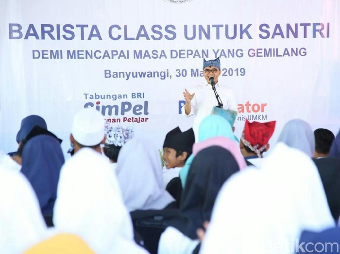 Barita Class untuk santri/Foto: Ardian Fanani