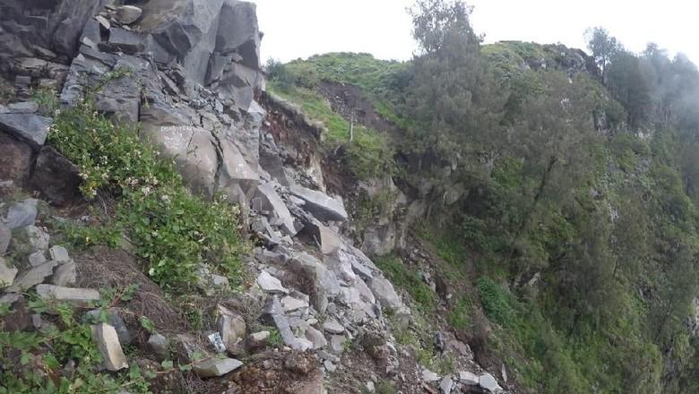 Jalur pendakian Gunung Rinjani masih disurvei (dok. BTNGR)