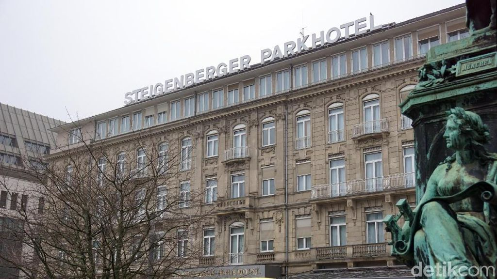Foto: Hotel Mewah Favorit Kanselir Jerman dan Selebriti di Dusseldorf