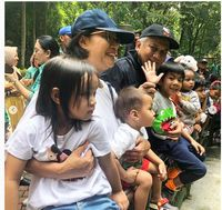 Akhir Pekan, Jokowi & Sri Mulyani Habiskan Waktu dengan Cucu