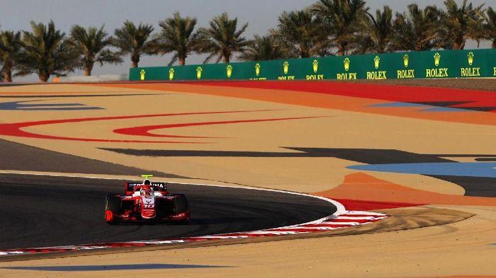 Sean Gelael gagal finis di feature race F2 Bahrain (dok.Sean Gelael)