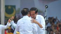 Potret Kebersamaan Jokowi-JK Saat Kampanye di Makassar