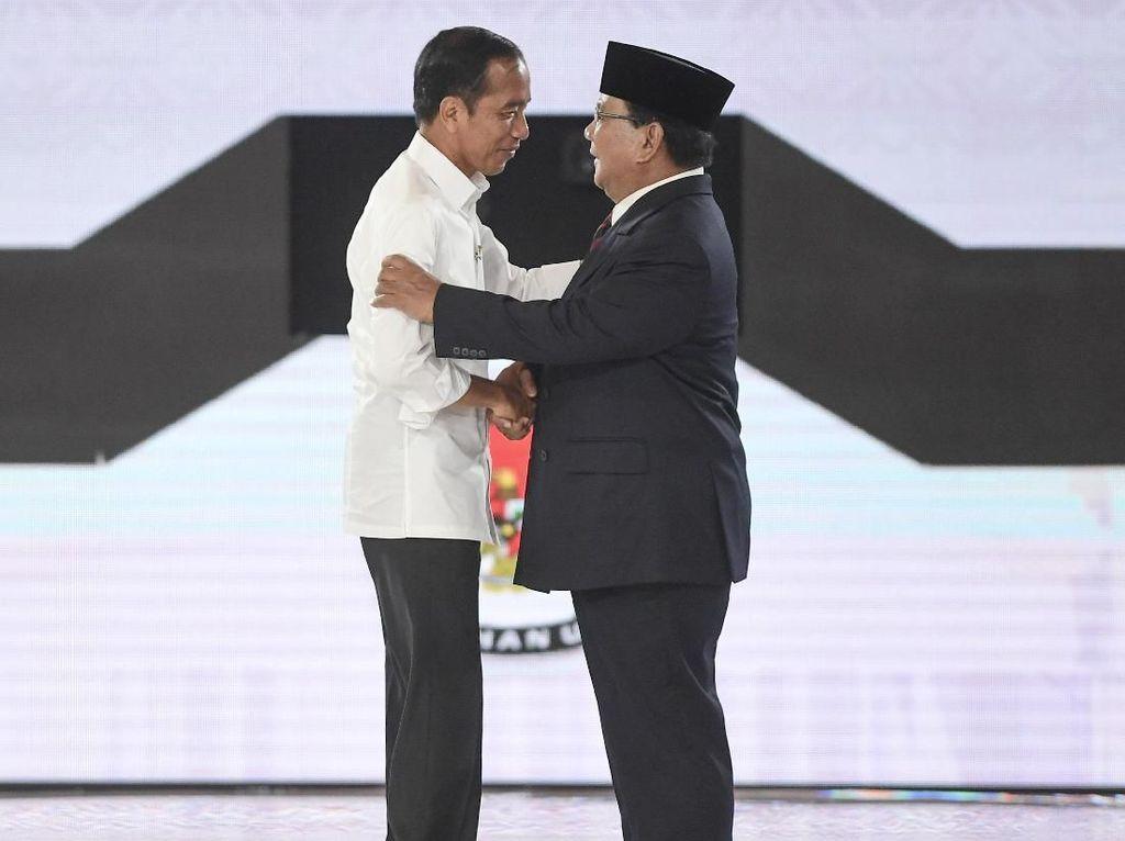 Persahabatan Bagai Kepompong! Begini Kalau Jokowi dan Prabowo Jadi Model Klipnya