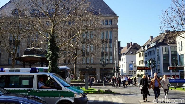 Suasana Kota Dusseldorf (Wahyu/detikcom)