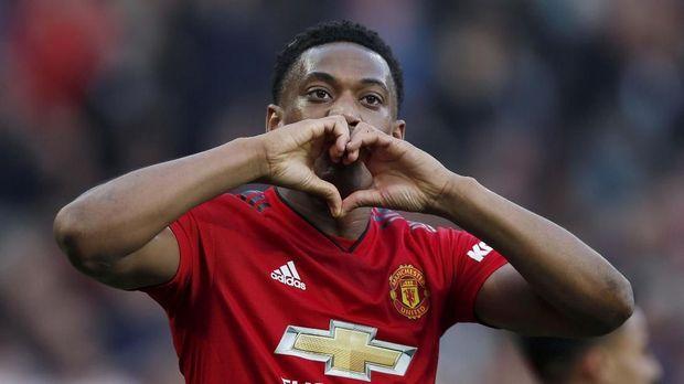 Anthony Martial jadi pemain kesayangan Joel Glazer di Man United. (