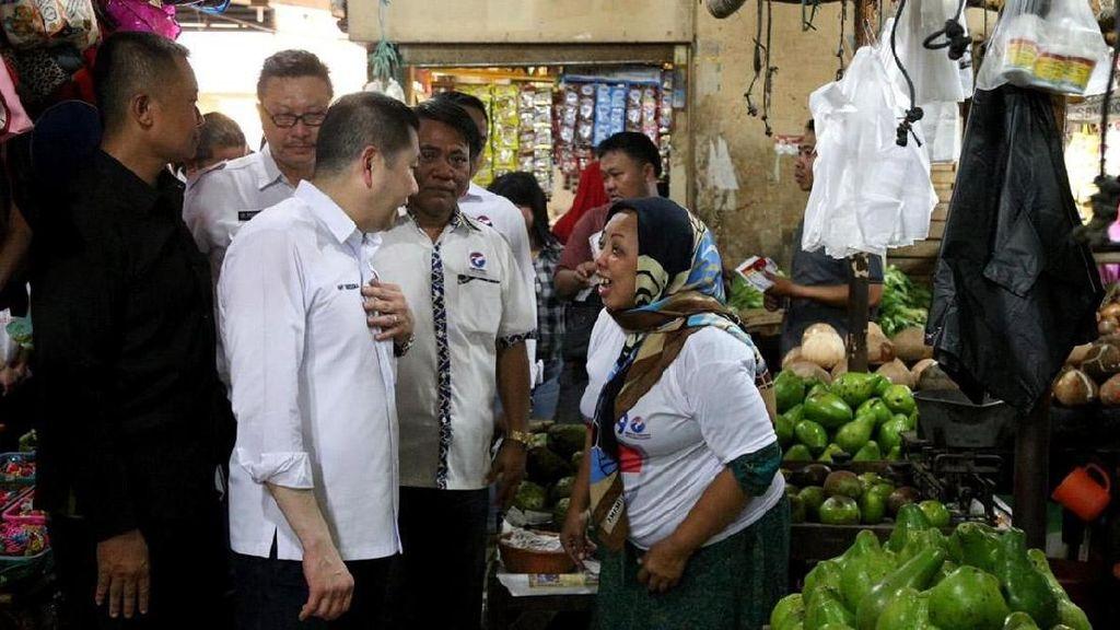 HT Ungkap Cara Majukan Pasar Tradisional