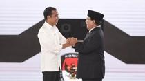 Jokowi dan Prabowo Lagi-lagi Jumpa Pers di Waktu Bersamaan
