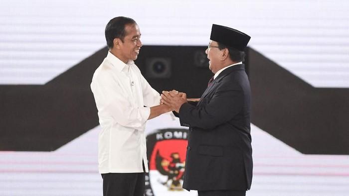Jokowi dan Prabowo (Foto: ANTARA FOTO/Hafidz Mubarak A)