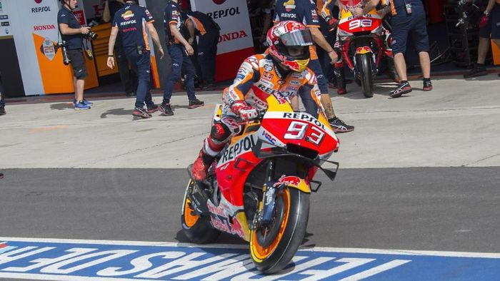Pebalap Repsol Honda, Marc Marquez. (Foto: Mirco Lazzari gp/Getty Images)