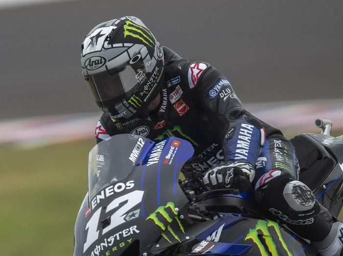 Pebalap Yamaha, Maverick Vinales. (Foto: Mirco Lazzari gp/Getty Images)