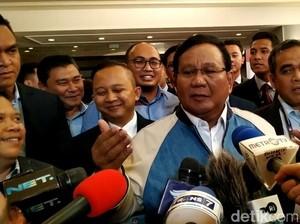 Melihat Lebih Detail Jaket Prabowo Buatan Didit Hediprasetyo
