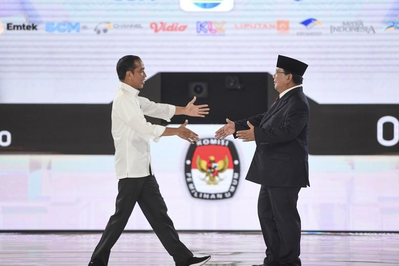 Data KawalPemilu 24%: Jokowi Unggul 2,1 Juta Suara dari Prabowo