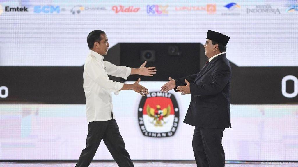 Prabowo dan Jokowi Sepakat Rajut Kembali Persatuan