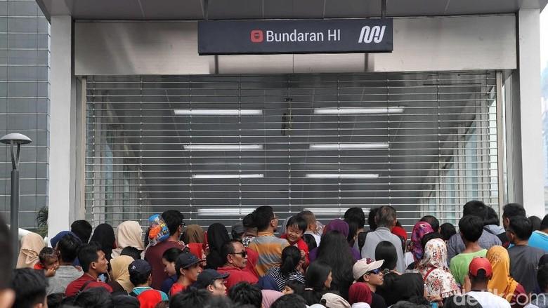 Foto: MRT Jakarta (Pradita Utama/detikcom)