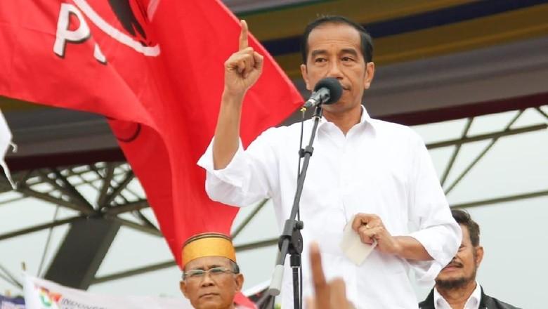 Foto: Jokowi kampanye di Makassar (Dok. Istimewa)