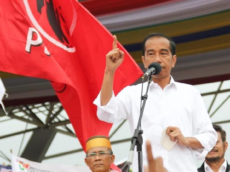 Eks Kapolsek Ngaku Diperintah Dukung 01, Jokowi: Laporkan Saja ke Saya