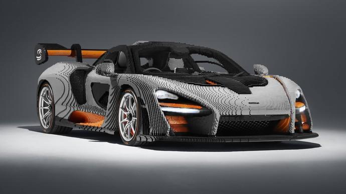 McLaren Terbuat dari Susunan Lego