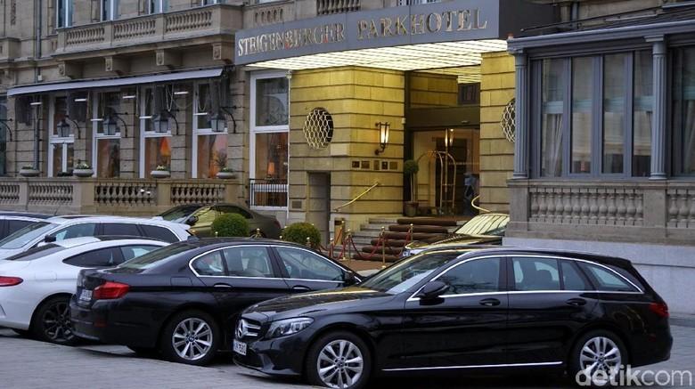 Steigenberger Parkhotel, hotel bersejarah di Kota Dusseldorf (Wahyu/detikcom)