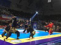 Buka Festival Pencak Silat Dunia, Prabowo Beri Pesan Jangan Balas Dendam