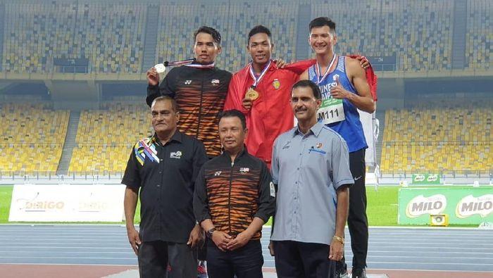 Lalu M Zohri juara di Malaysia Grand Prix 2019 (dok.PB PASI)