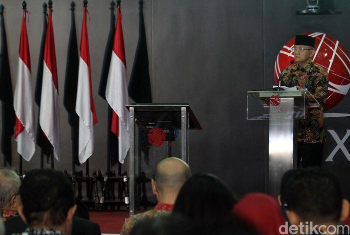 Penyerahan fatwa dilakukan oleh Sekretaris DSN-MUI Anwar Abbas kepada Direktur Utama PT Kustodian Sentral Efek Indonesia (KSEI) Friderica Widyasari Dewi. Fatwa tersebut bernomor 124/DSN-MUI/XI/2018 tentang Penerapan Prinsip Syariah dalam Pelaksanaan Layanan Jasa Penyimpanan dan Penyelesaian Transaksi Efek Serta Pengelolaan Infrastruktur Investasi Terpadu.