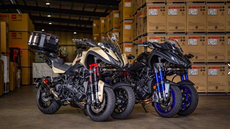 Yamaha Niken Turbo Foto: Pool (Yamaha Motor Australia)